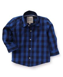 The kidShop Checks Shirt - Blue