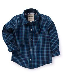 The kidShop Boys Checks Shirt - Blue