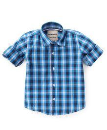 The kidShop Classic Checks Shirt - Blue
