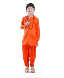 Fancydresswale Vanvasi Ram Theme Costume - Orange