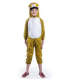 Fancydresswale Tiger Fancy Dress - Yellow Black