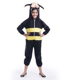 Fancydresswale Honeybee Fancy Dress - Black