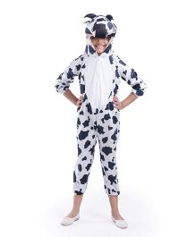 Fancydresswale Sheep Fancy Dress - White Black