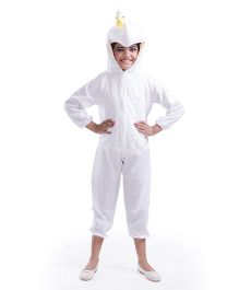 Fancydresswale Dinosaur Fancy Dress - White