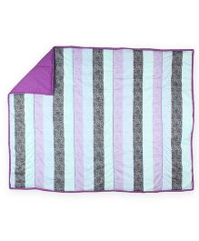 HouseThis The Cute Stripes Pure Cotton Quilt - Multicolor