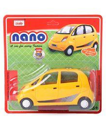 Centy Pull Back Nano Toy Car - Yellow