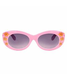 Tickles 4 U Flower Print Sunglasses- Pink