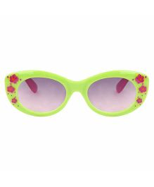 Tickles 4 U Flower Print Sunglasses- Green