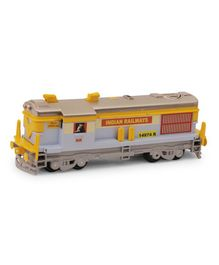 Centy Pull Back Action Locomotive Engine Toy - Sky Blue Yellow