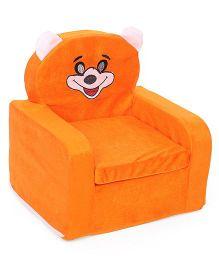 Lovely Smart Kids Cat Print Sofa - Orange
