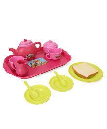 Chhota Bheem Tea Set - Pink And Green