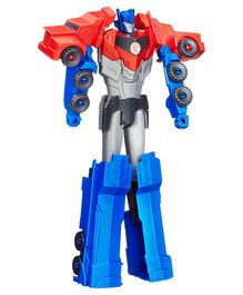Transformers Robots In Disguise Optimus Prime Figure Red & Blue - 28 cm