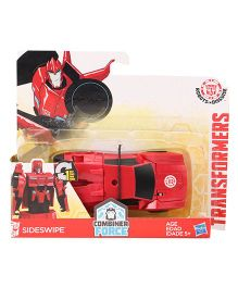 Transformers One Step Changer Sideswipe Figure - Red