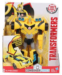 Transformers Rid Hyper Change Heroes Bumblebee Figure Yellow - 19 cm