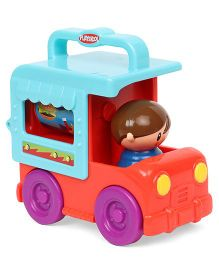 Playskool Fold N Roll Toy Truck - Blue Orange