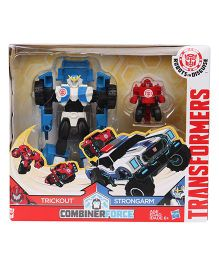 Transformers RID Activator Combiner Pack Trickout & Strongarm Figure Blue Red - 15.5 cm