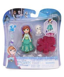 Disney Frozen Doll With Accessories Green - 6.5 cm