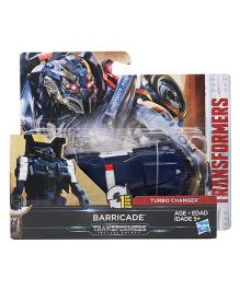 Transformers The Last Knight Baricade Figure Blue - Length 10 cm