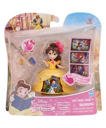 Disney Princess Little Kingdom Doll With Accessories Yellow - 8 cm