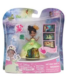 Disney Princess Little Kingdom Doll With Accessories Green - 7.5 cm