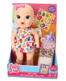 Baby Alive Sips N Cuddles Baby Doll - 26.5 cm