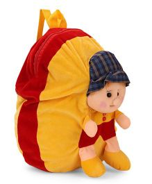 Funzoo Soft Toy Bag Candy Doll Shape - Yellow Red