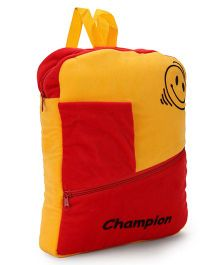 Funzoo Soft Plush Bag Red Yellow - 6 Inches