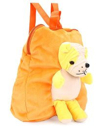 Funzoo Puppy Soft Toy Bag Orange - Height 12 Inches