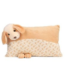 Funzoo Puppy Soft Toy Pillow