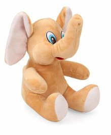 Funzoo Elephant Soft Toy Brown - 20 cm