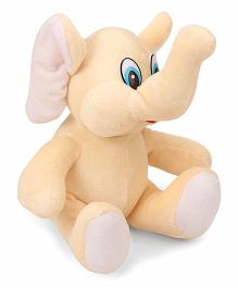 Funzoo Elephant Soft Toy Cream - 20 cm