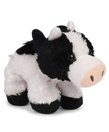 Wild Republic Cow Soft Toy Black White - 19.5 cm