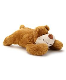 Play N Pets Doggy Convertible Cushion Soft Toy - Brown