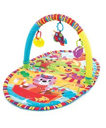 Playgro Large Activity Play Gym With Mat - Multi Color