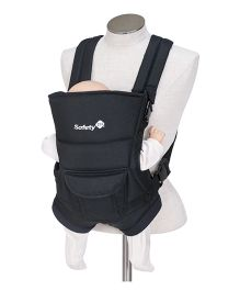 Safety 1st Youmi 2 Way Baby Carrier Plain - Blue Black
