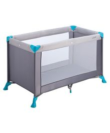 Safety 1st Soft Dreams Travel Cot - Grey