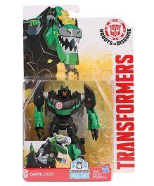 Transformers Warrior Grimlock Figure Green & Black - 12 cm