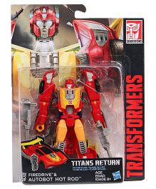 Transformers Firedrive & Autobot Hot Red Figure Red & Yellow - 12 cm