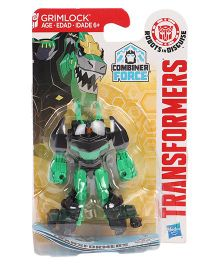 Transformers Warrior RID Grimlock Figure Green - 6.5 cm