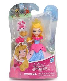 Disney Princess Doll Small Pink Blue - 7 cm