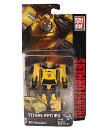 Transformers Titans Return Legends Class Bumblebee Figure Yellow - 8 cm