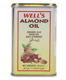 Well's Almond Oil - 175 ml