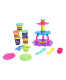 Play Doh Cupcake Tower - Multicolor