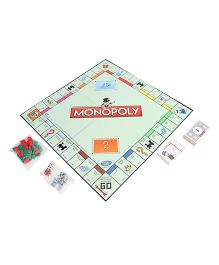 Hasbro Monopoly Board Game - Multicolor