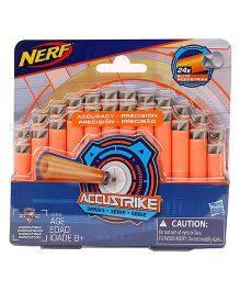 Nerf Accustrike Dart Refills Pack Of 24- Orange