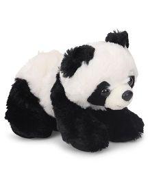Wild Republic Hug Ems Mini Panda Soft Toy Black & White - Length 15 cm