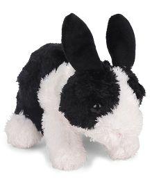 Wild Republic Hug Ems Dutch Bunny Soft Tot Black & White - Length 16 cm