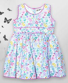 Bella Moda Floral Printed Dress - Multicolor
