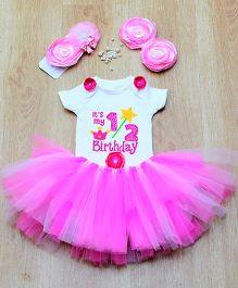 Tu Ti Tu Fairy Onesie & Tutu Set - Pink