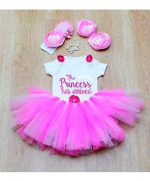 Tu Ti Tu Fairy Princess Onesie & Tutu Set - Pink